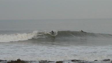 Surf report MA, La Bobine (MA) du 2014-01-10 14:00:00