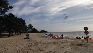 Wind report FR, Andernos - Le Betey (33) du 2014-02-09 12:00:00