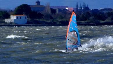 Wind report FR, Le Barcarès - Cap Coudalère  (66) du 2014-01-26 12:00:00