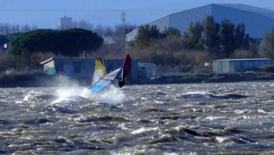 Wind report FR, Le Barcarès - Cap Coudalère  (66) du 2014-01-25 12:00:00