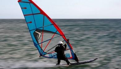 Wind report FR, Leucate - La Franqui (11) du 2014-01-23 12:00:00