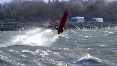 Wind report FR, Le Barcarès - Cap Coudalère  (66) du 2014-02-28 12:00:00