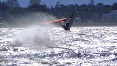 wind report FR, Le Barcarès - Cap Coudalère  (66) du 2014-03-23 12:00:00