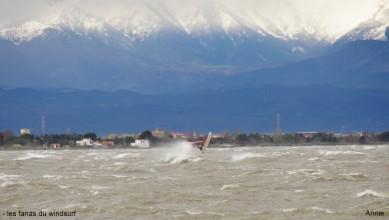 wind report FR, Le Barcarès - Cap Coudalère  (66) du 2014-04-04 12:00:00