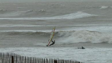 wind report FR, La Tranche sur Mer - La jetée (85) du 2014-04-27 16:00:00