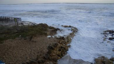Wind report FR, Menton - Plage Rondelli (06)