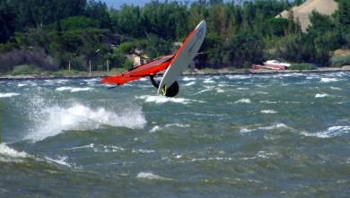 Wind report FR, Le Barcarès - Cap Coudalère  (66) du 2014-07-21 12:00:00