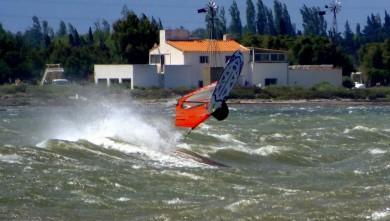 Wind report FR, Le Barcarès - Cap Coudalère  (66) du 2014-07-30 12:00:00