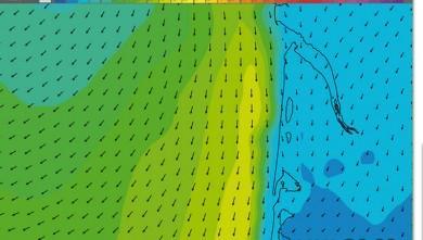 wind report FR, Le Porge (33) du 2014-09-26 16:00:00