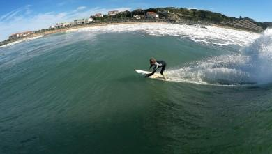 Surf report FR, Anglet Surf Club (64) du 2014-10-18 12:00:00