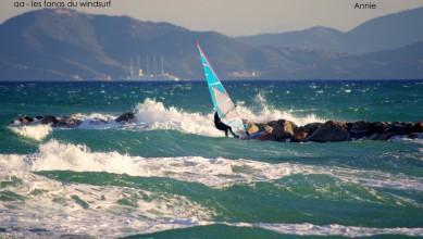 Wind report FR, Saint-Cyprien - Plage de l'Art (66) du 2014-11-14 12:00:00