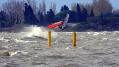 Wind report FR, Le Barcarès - Cap Coudalère  (66) du 2014-12-02 12:00:00