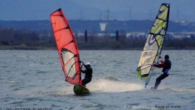 Wind report FR, Le Barcarès - Cap Coudalère  (66) du 2014-12-16 12:00:00