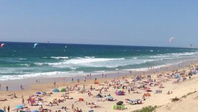 wave report FR, Biscarrosse Plage (40) du 2015-07-14 17:30:00