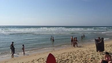 wave report FR, Le Porge (33) du 2015-07-18 17:42:00