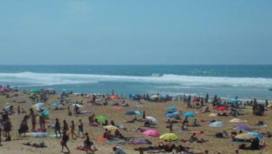 Surf report FR, Vieux Boucau (40) du 2015-08-05 15:45:00