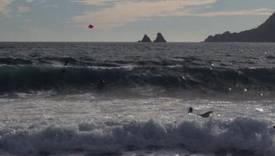 surf report FR, Plage des Sablettes (83)