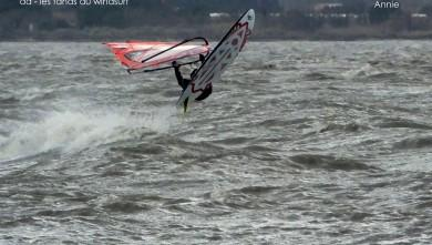 wind report FR, Le Barcarès - Cap Coudalère  (66) du 2015-01-26 12:00:00