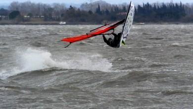 wind report FR, Le Barcarès - Cap Coudalère  (66) du 2015-01-27 12:00:00