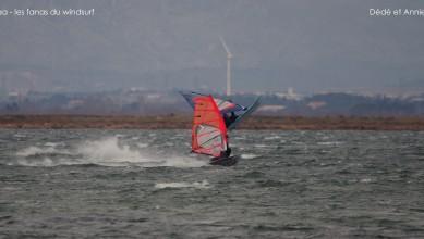 Wind report FR, Le Barcarès - Cap Coudalère  (66) du 2015-02-04 12:00:00