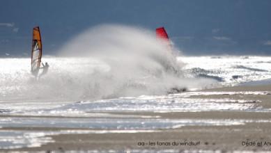 Wind report FR, Leucate - La Franqui (11) du 2015-02-07 12:00:00