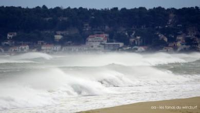 Wind report FR, Leucate - La Franqui (11) du 2015-02-17 12:00:00