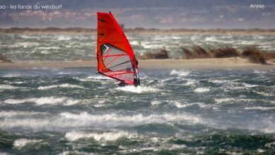 Wind report FR, Le Barcarès - Cap Coudalère  (66) du 2015-02-22 12:00:00
