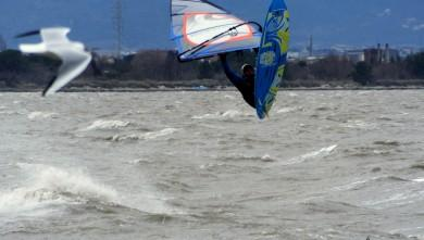 Wind report FR, Le Barcarès - Cap Coudalère  (66) du 2015-02-25 12:00:00