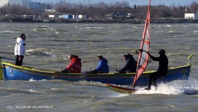 Wind report FR, Le Barcarès - Cap Coudalère  (66) du 2015-02-28 12:00:00