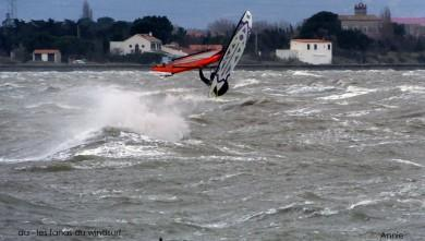 Wind report FR, Le Barcarès - Cap Coudalère  (66) du 2015-03-04 12:00:00