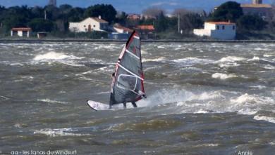 Wind report FR, Le Barcarès - Cap Coudalère  (66) du 2015-03-28 12:00:00