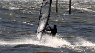 Wind report FR, Le Barcarès - Cap Coudalère  (66) du 2015-03-31 12:00:00