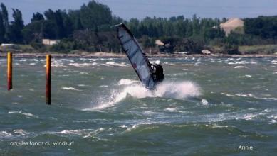 Wind report FR, Le Barcarès - Cap Coudalère  (66) du 2015-05-25 12:00:00