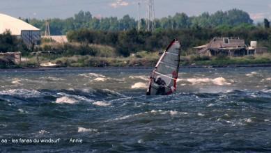 Wind report FR, Le Barcarès - Cap Coudalère  (66) du 2015-08-10 12:00:00