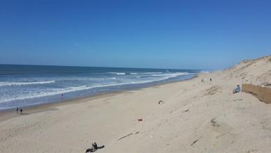 Surf report FR, Hourtin Océan - La Centrale (33) du 2015-10-09 15:00:00