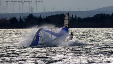 Wind report FR, Le Barcarès - Cap Coudalère  (66) du 2015-10-20 17:00:00