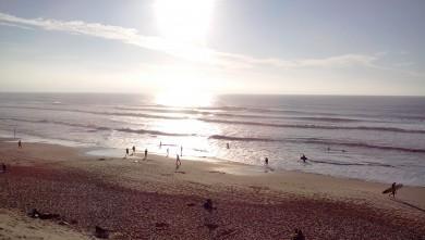 Surf report FR, Hourtin Océan - La Centrale (33) du 2015-10-25 14:00:00