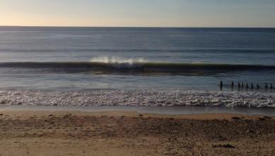Surf report FR, Jullouville (50) du 2015-10-25 16:00:00
