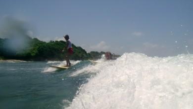surf report GP, Plage du Helleux (GP)