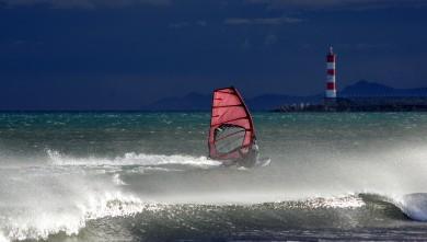 Wind report FR, Port-la-Nouvelle - Plage Nord (11) du 2016-01-14 19:00:00