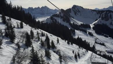 snow report FR, Chatel (74)