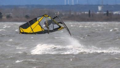 Wind report FR, Le Barcarès - Cap Coudalère  (66) du 2016-01-31 18:00:00