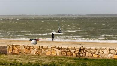 wind report FR, Arcachon - Les Arbousiers (33) du 2016-02-13 13:00:00