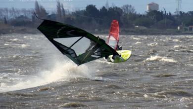 Wind report FR, Le Barcarès - Cap Coudalère  (66) du 2016-03-01 17:00:00