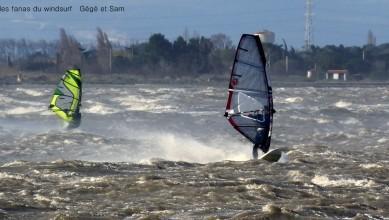 Wind report FR, Le Barcarès - Cap Coudalère  (66) du 2016-03-03 17:00:00