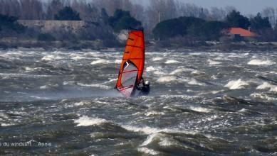 Wind report FR, Le Barcarès - Cap Coudalère  (66) du 2016-03-23 17:00:00