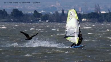 Wind report FR, Le Barcarès - Cap Coudalère  (66) du 2016-03-24 17:00:00
