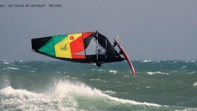 Wind report FR, Canet Sud - Pont des Basses (66) du 2016-04-04 17:00:00