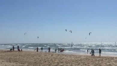 Wind report FR, Lacanau Océan - La Sud (33) du 2016-04-24 14:00:00