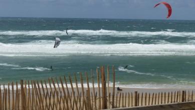 Wind report FR, Biscarrosse Plage (40) du 2016-04-30 15:00:00